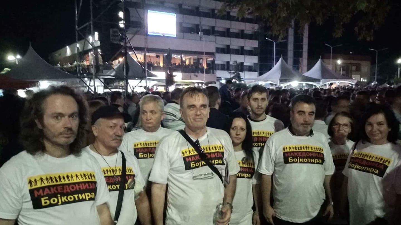 (ФОТО) Кризен штаб против референдумот во Кавадарци: Светот гледа дека Македонците масовно ќе бојкотираат