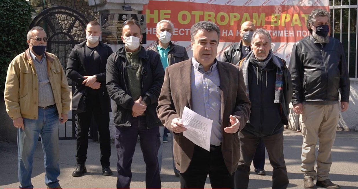 """Бачев: Христијан, Националниот Блок """"Не отворам врата"""" те подржува во Битката за Македонија"""